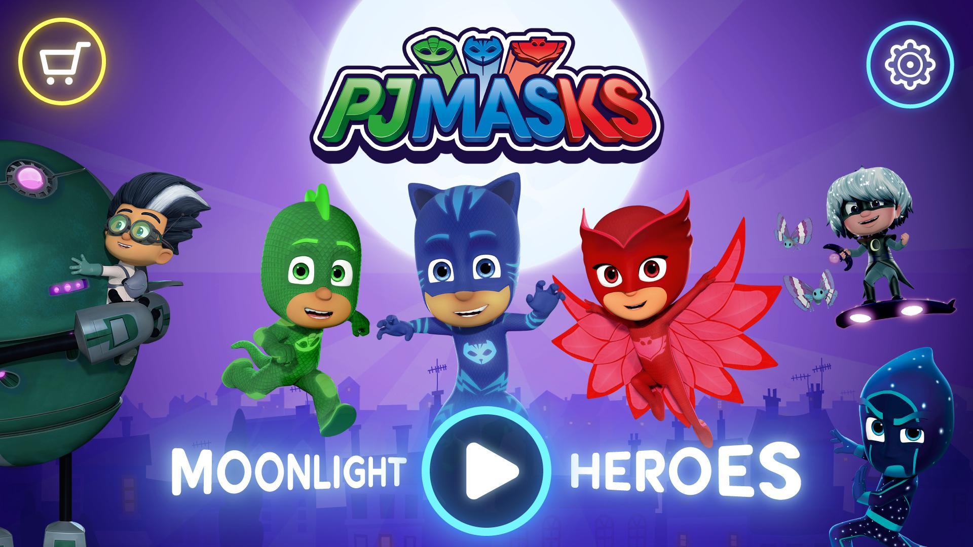 PJ Masks™: Moonlight Heroes 3.0.0 Screenshot 1