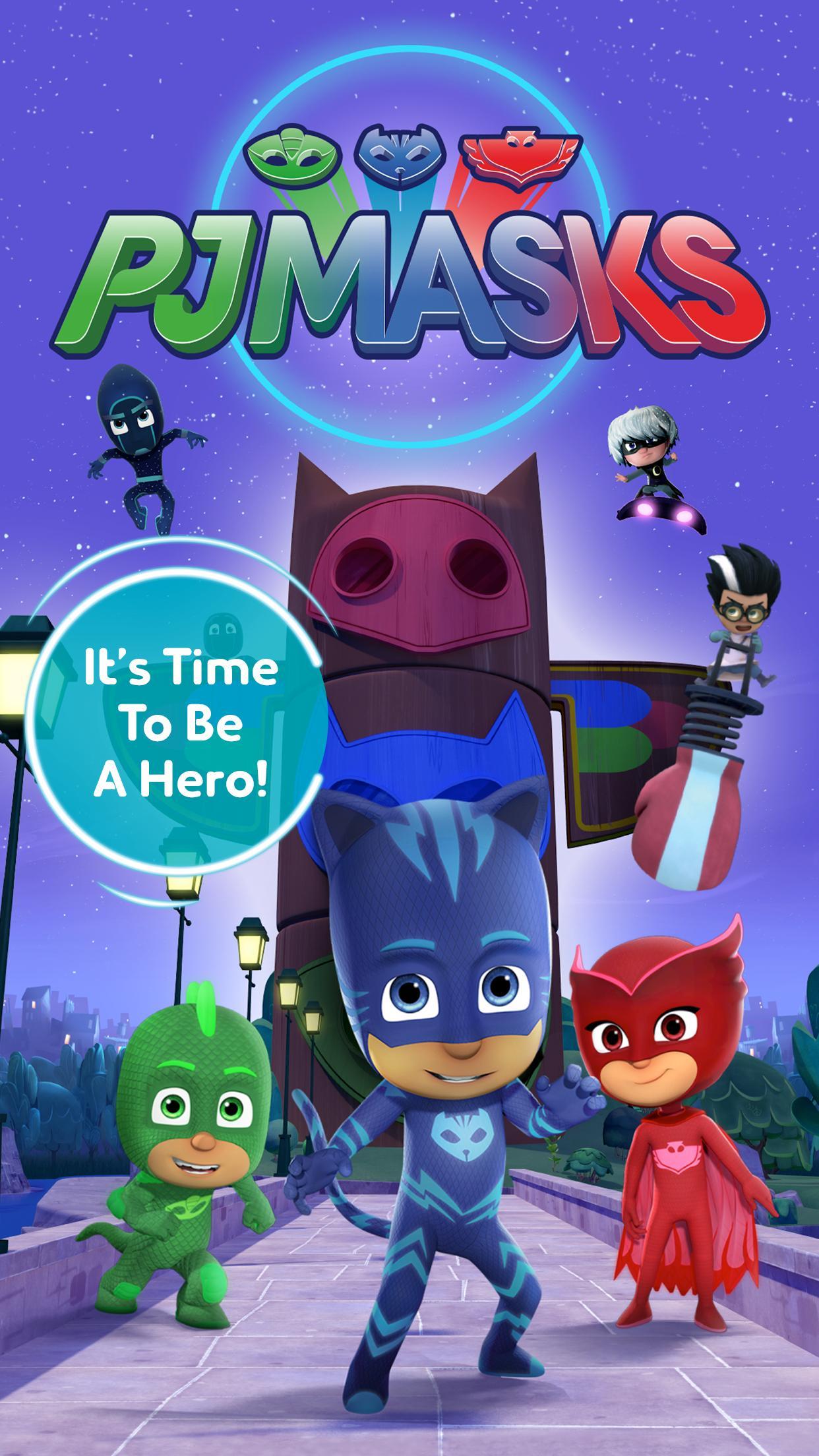 PJ Masks Time To Be A Hero 2.1.2 Screenshot 1