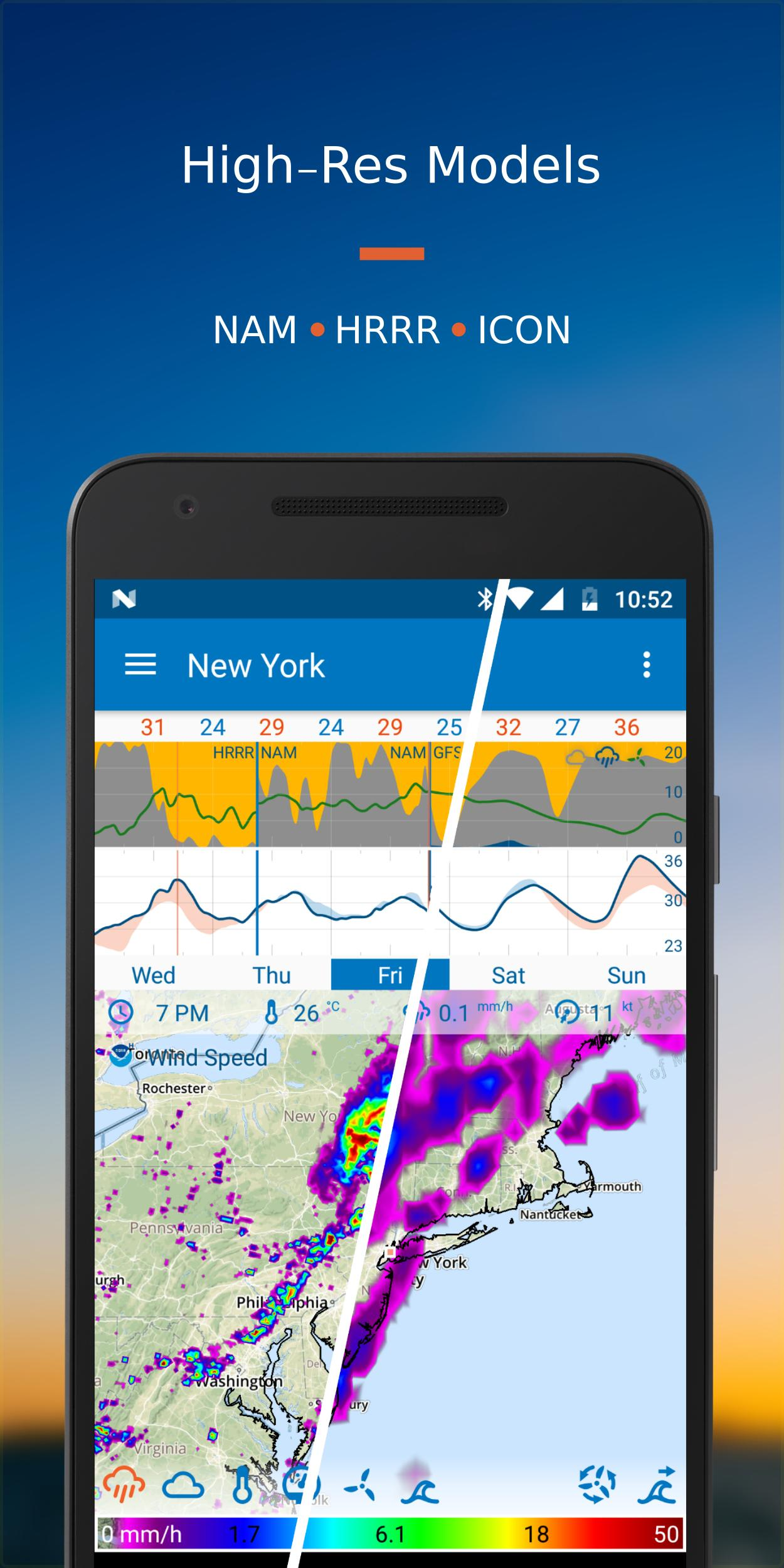 Flowx Weather Map Forecast 3.220 Screenshot 3