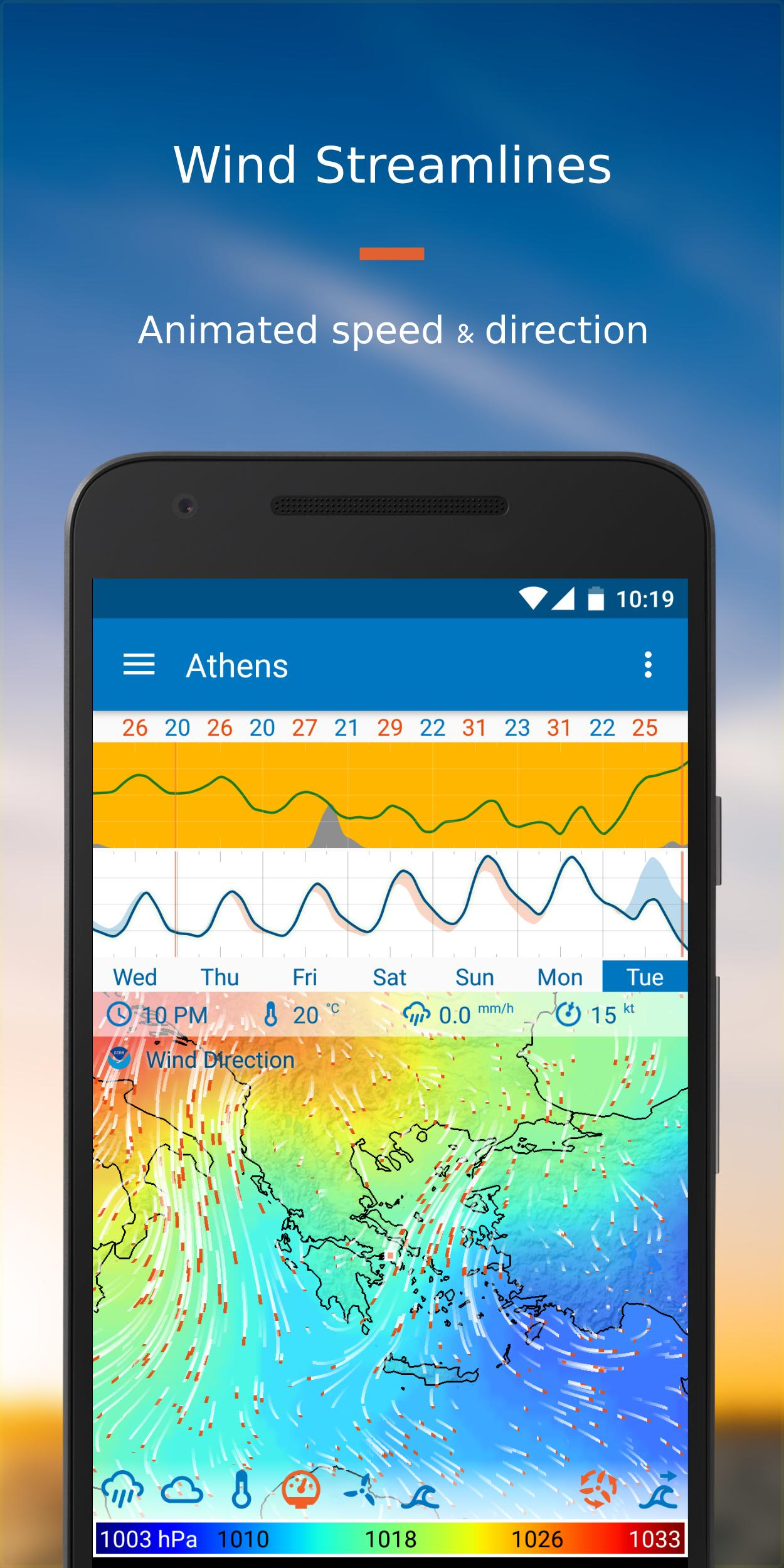 Flowx Weather Map Forecast 3.220 Screenshot 5