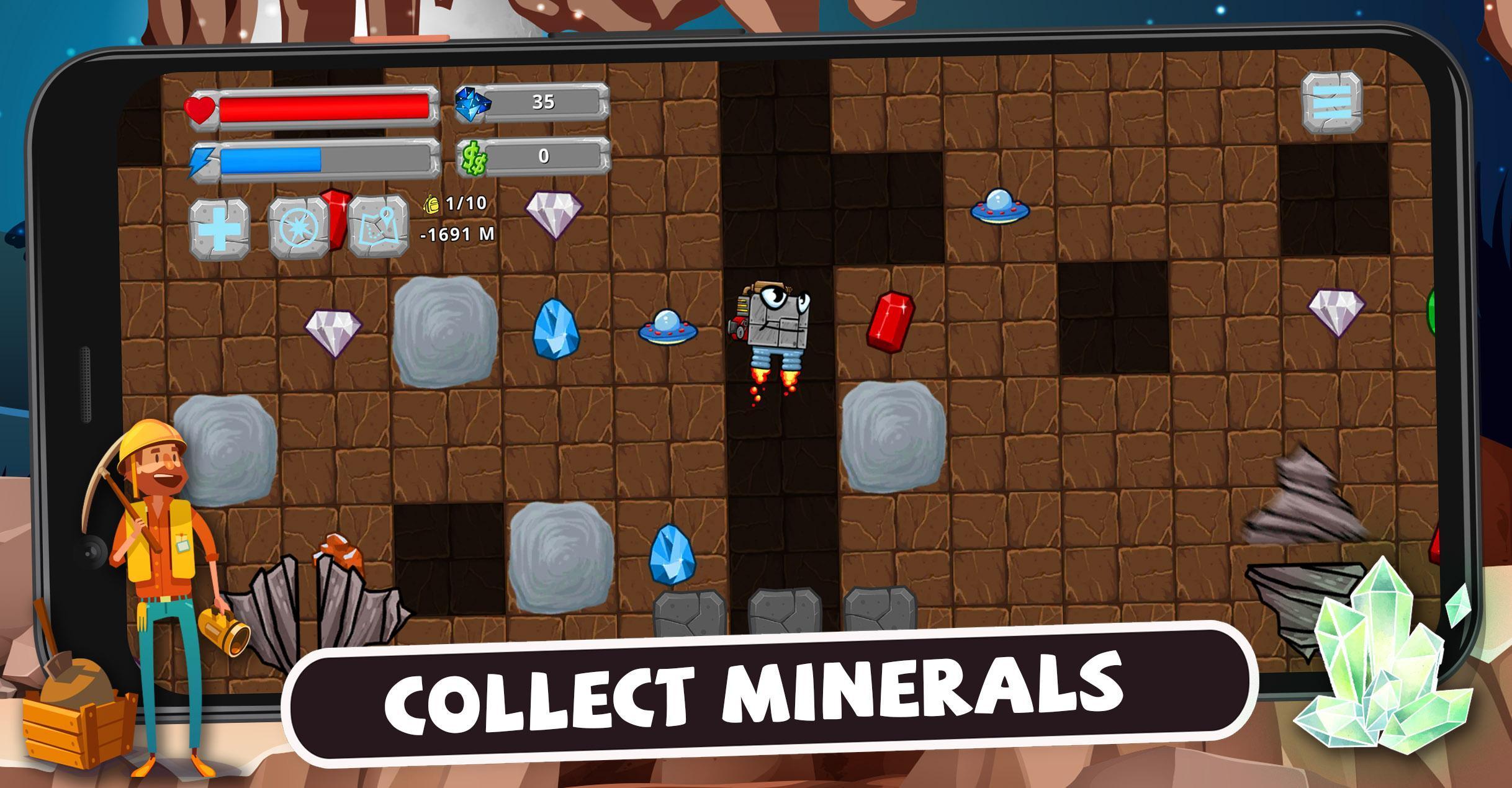 Digger Machine dig and find minerals 2.7.0 Screenshot 1