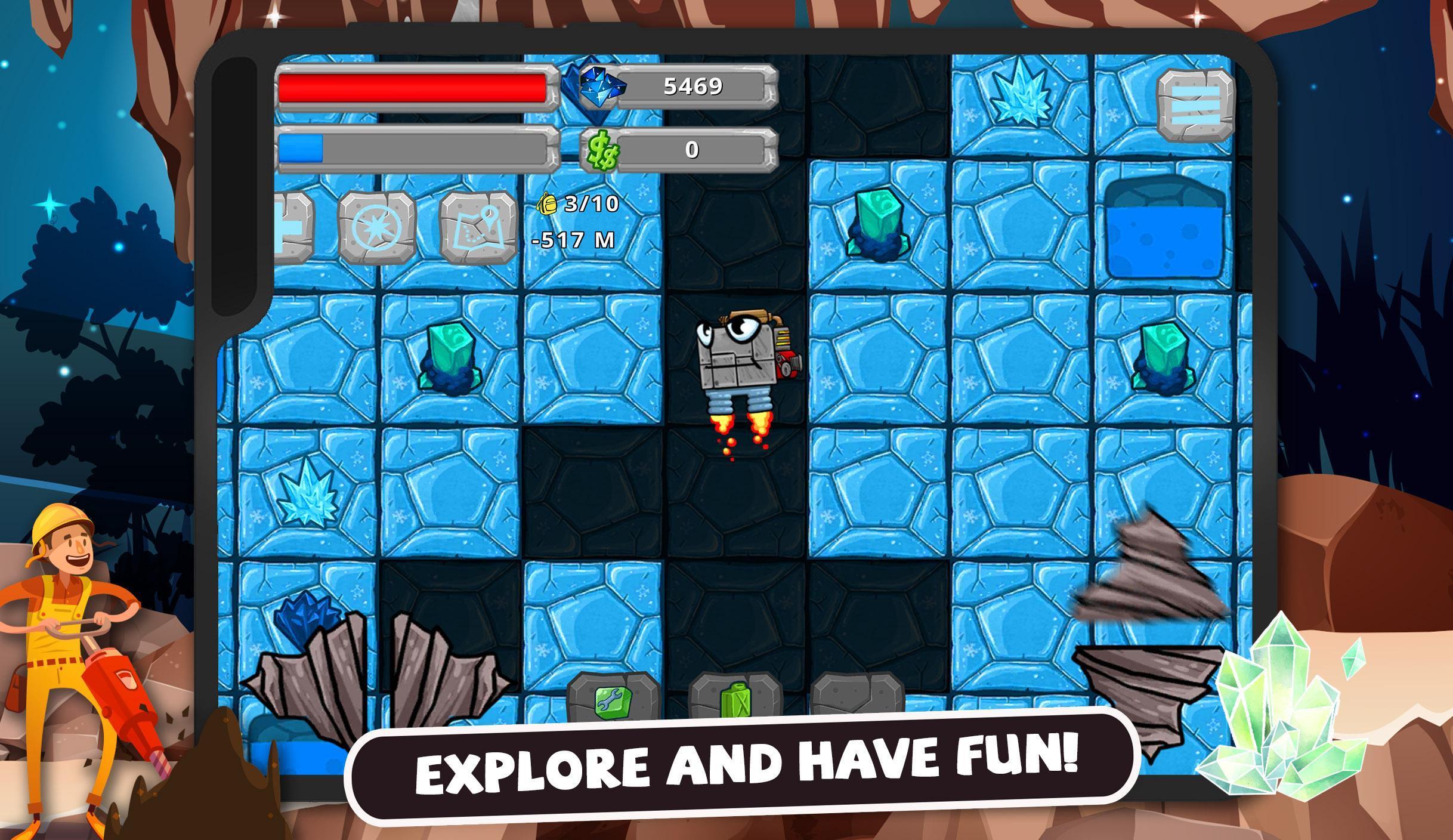 Digger Machine dig and find minerals 2.7.0 Screenshot 10