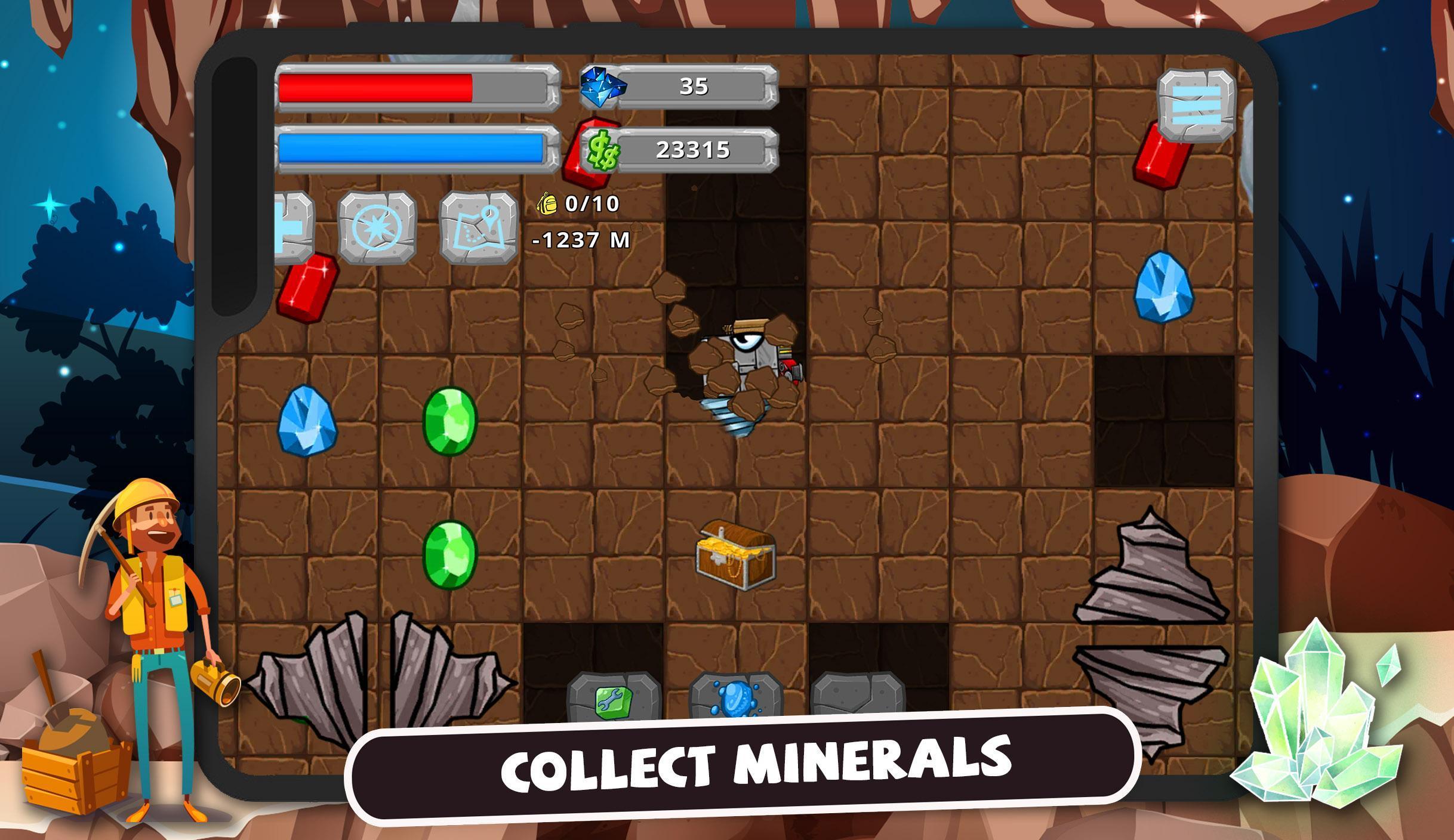 Digger Machine dig and find minerals 2.7.0 Screenshot 15