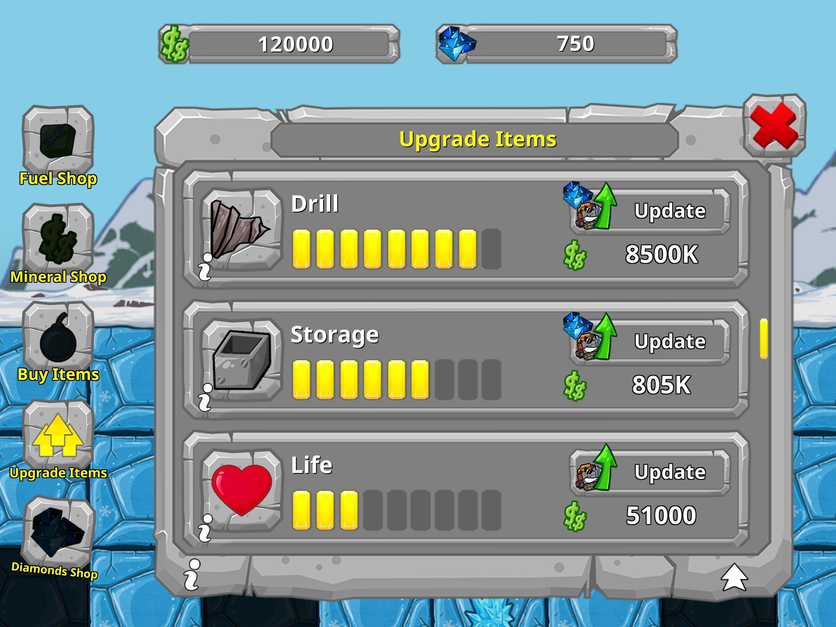 Digger Machine dig and find minerals 2.7.0 Screenshot 20