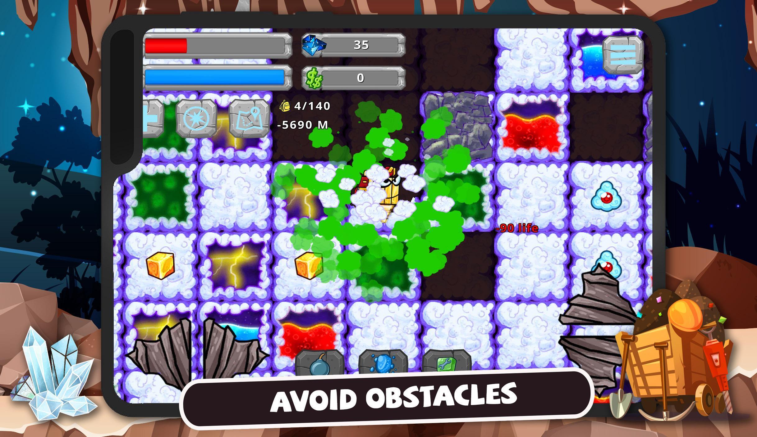Digger Machine dig and find minerals 2.7.0 Screenshot 9