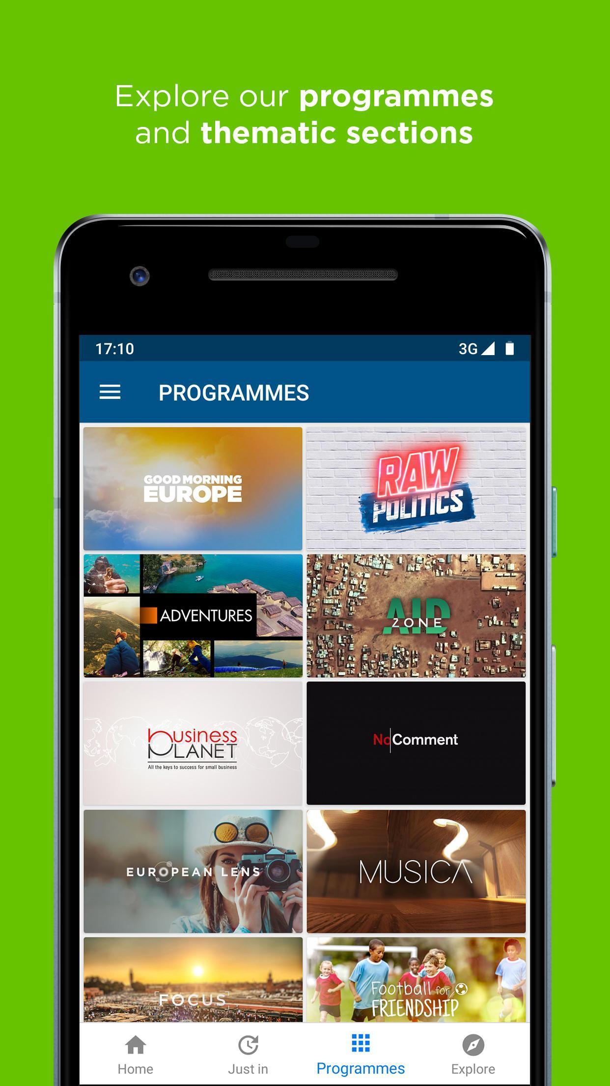 Euronews Daily breaking world news & Live TV 5.2.1 Screenshot 4