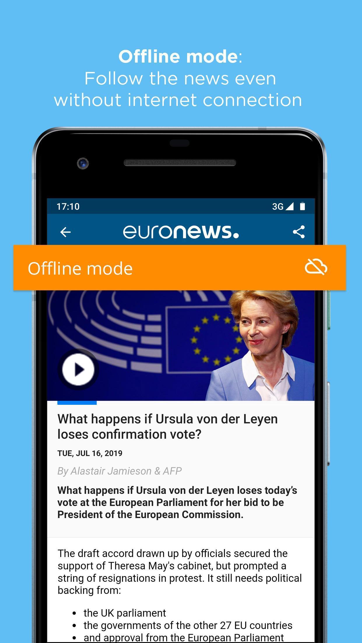 Euronews Daily breaking world news & Live TV 5.2.1 Screenshot 6