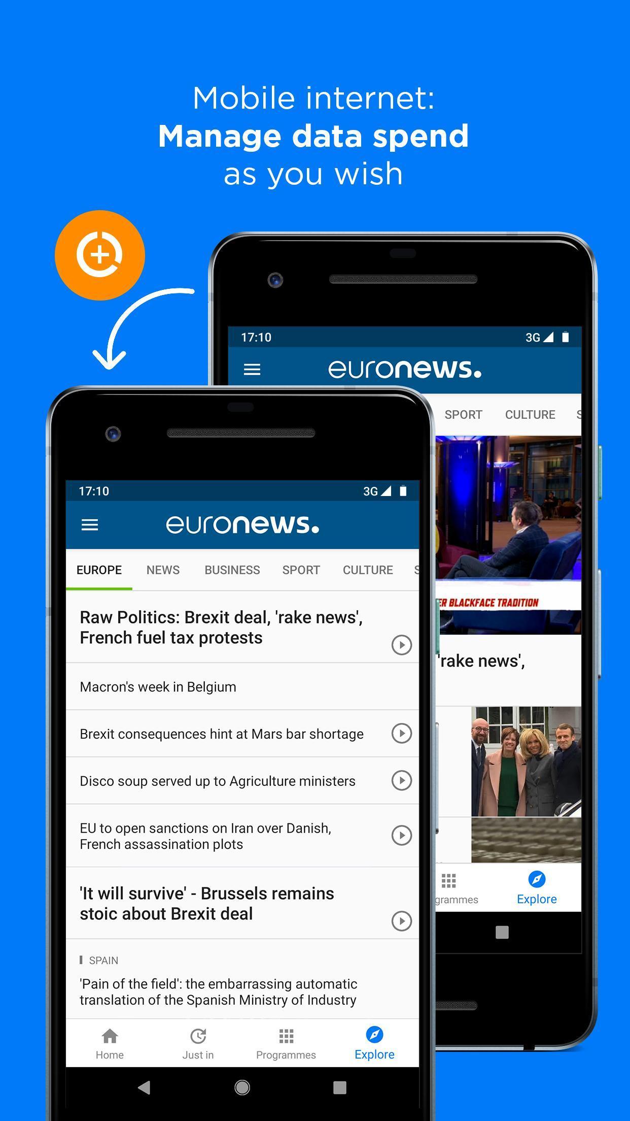 Euronews Daily breaking world news & Live TV 5.2.1 Screenshot 7