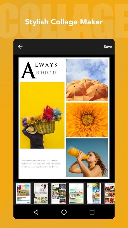 Fotor Photo Editor - Photo Collage & Photo Effects 5.1.2.601 Screenshot 2