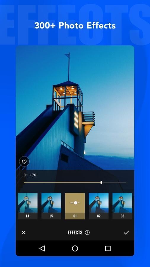 Fotor Photo Editor - Photo Collage & Photo Effects 5.1.2.601 Screenshot 3