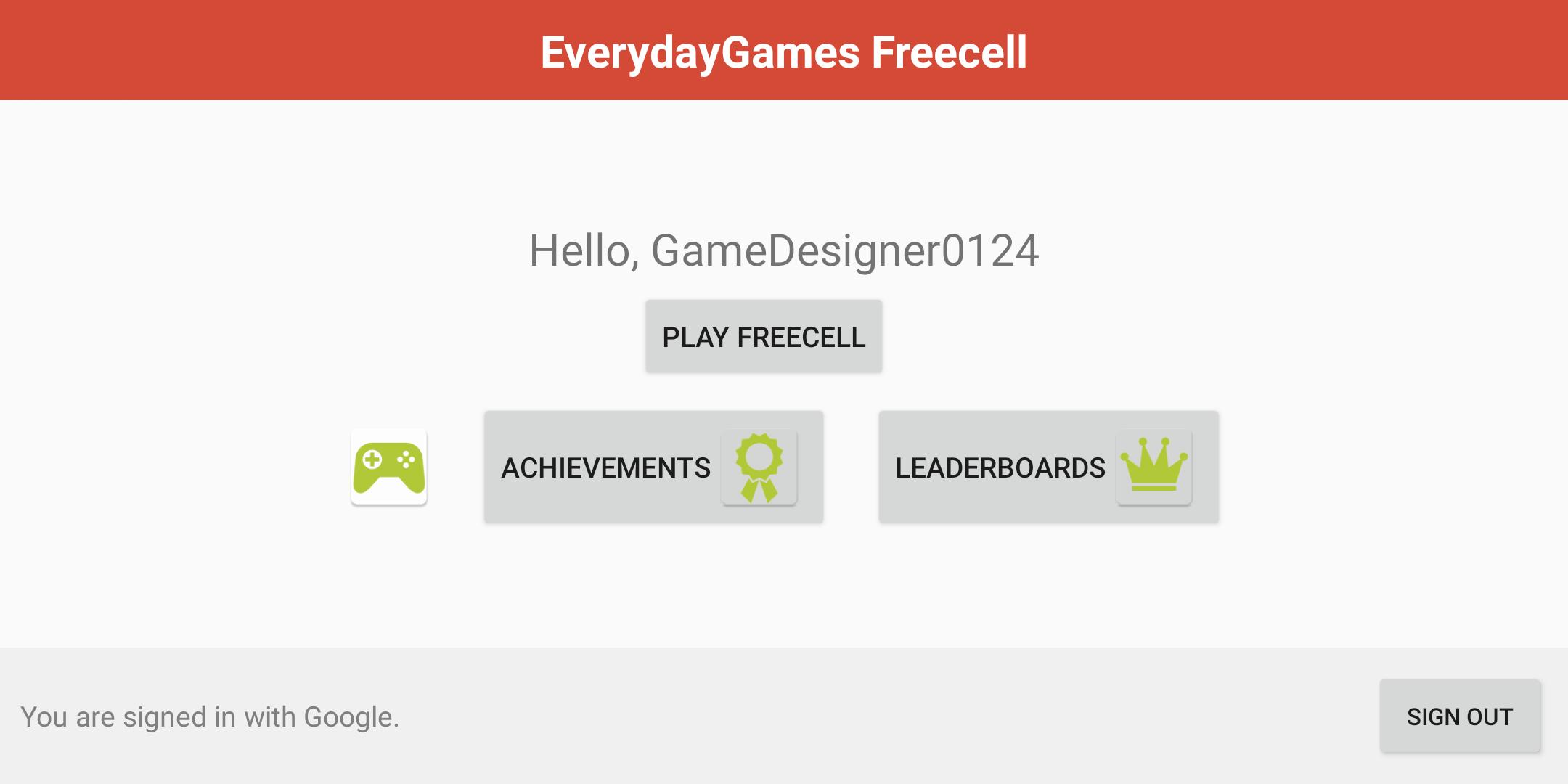 FreeCell with Leaderboards 74.8 Screenshot 15