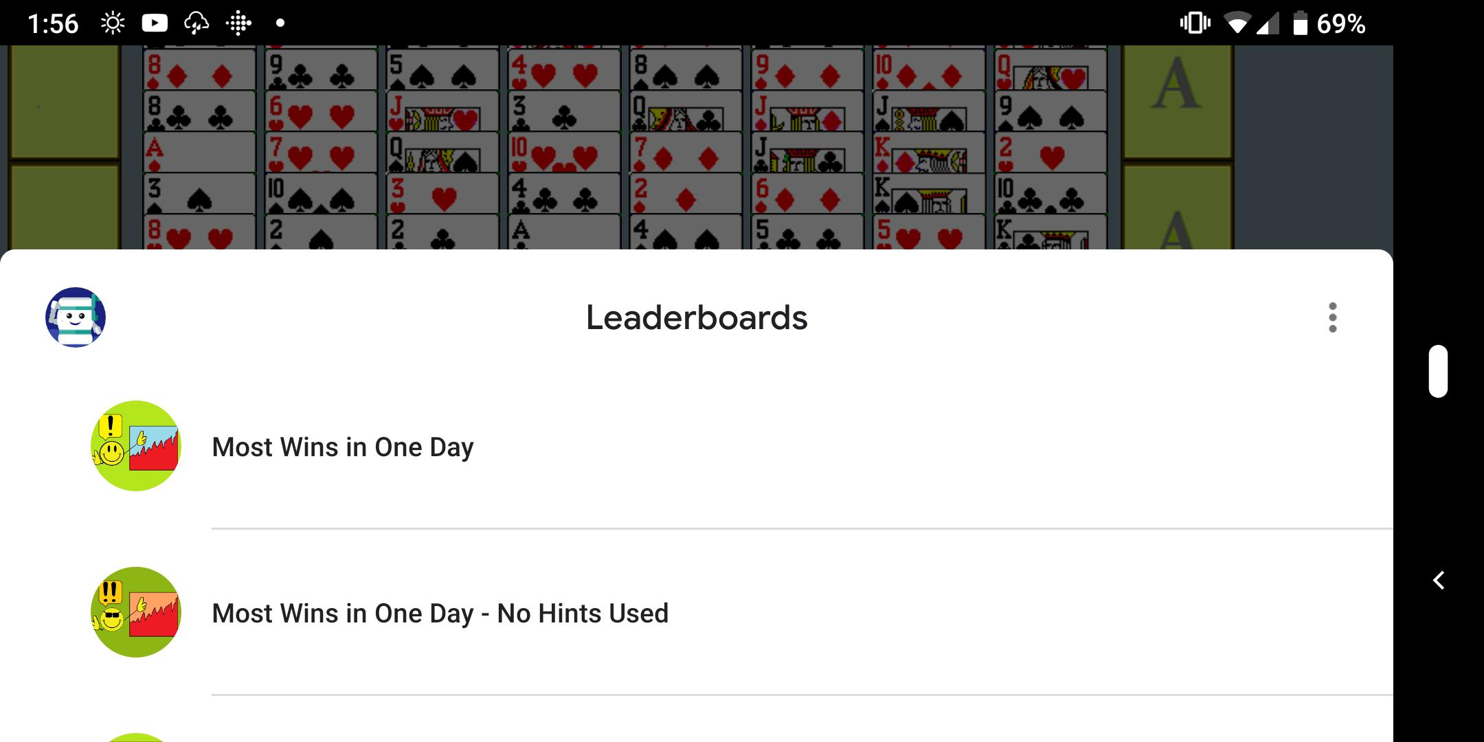 FreeCell with Leaderboards 74.8 Screenshot 3