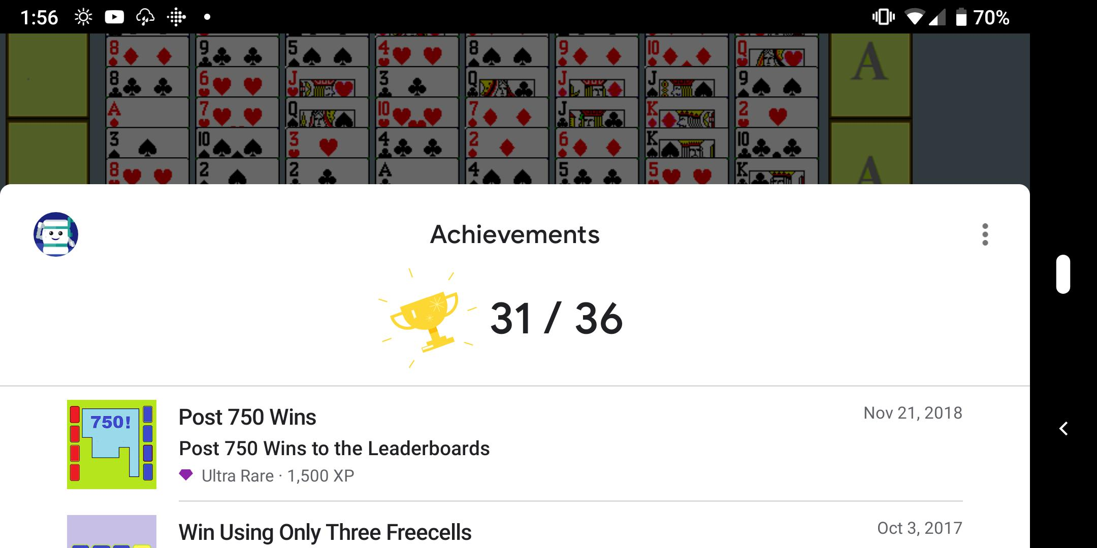 FreeCell with Leaderboards 74.8 Screenshot 4