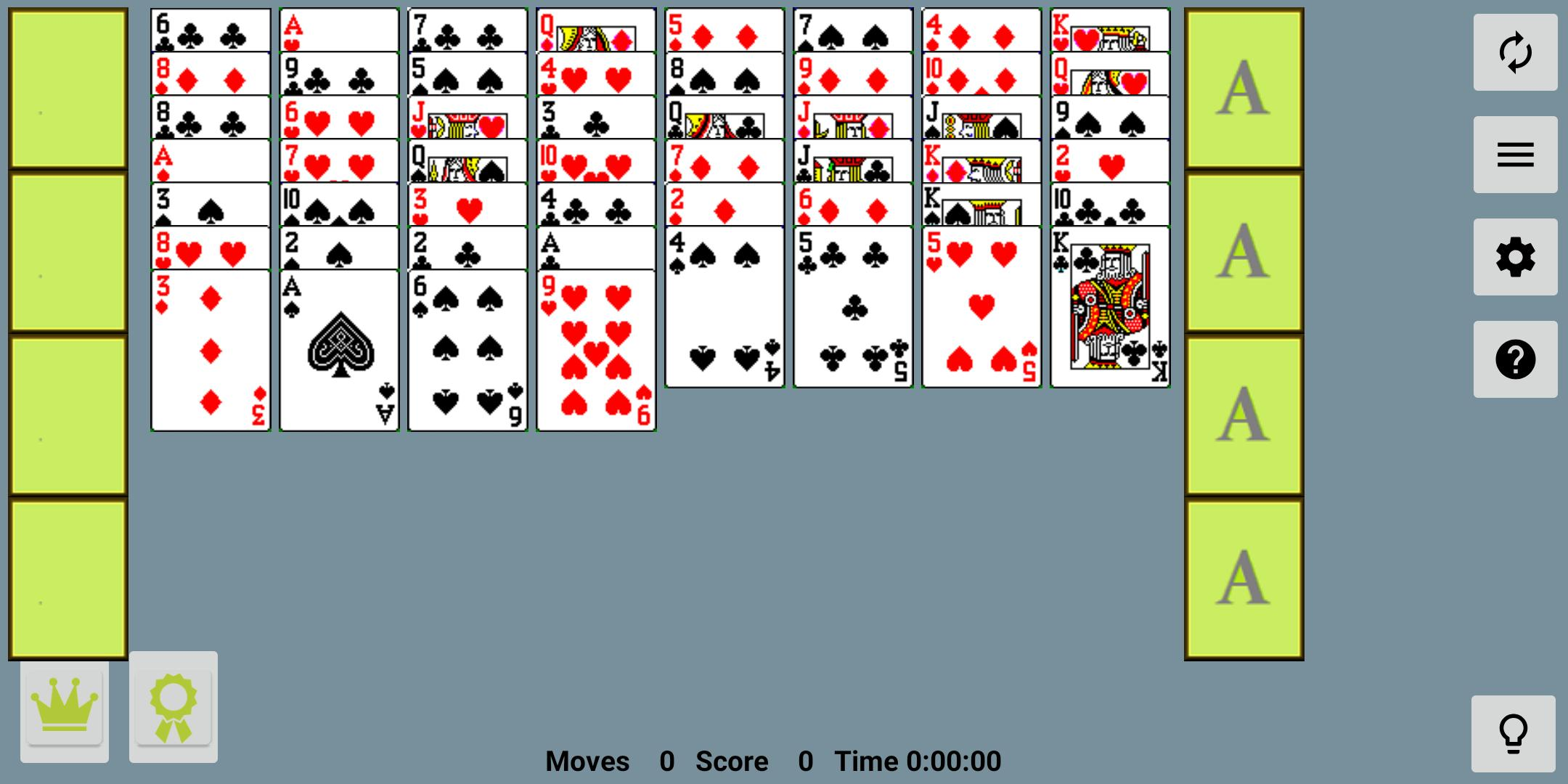 FreeCell with Leaderboards 74.8 Screenshot 9