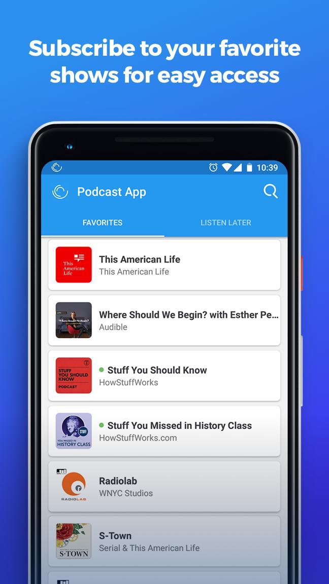 The Podcast App 2.0.8 Screenshot 3