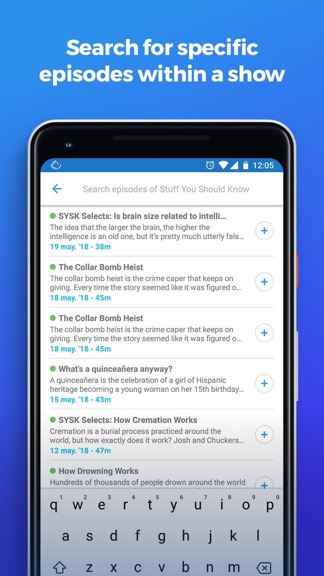 The Podcast App 2.0.8 Screenshot 7