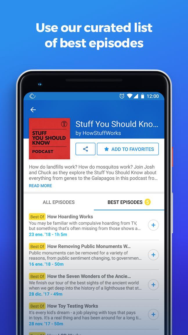 The Podcast App 2.0.8 Screenshot 8