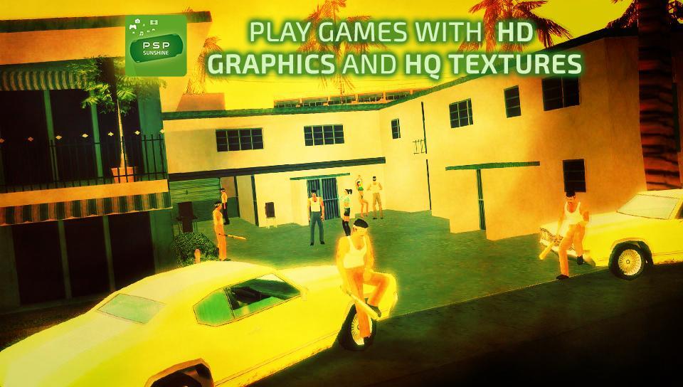Sunshine Emulator for PSP 3.0 Screenshot 2