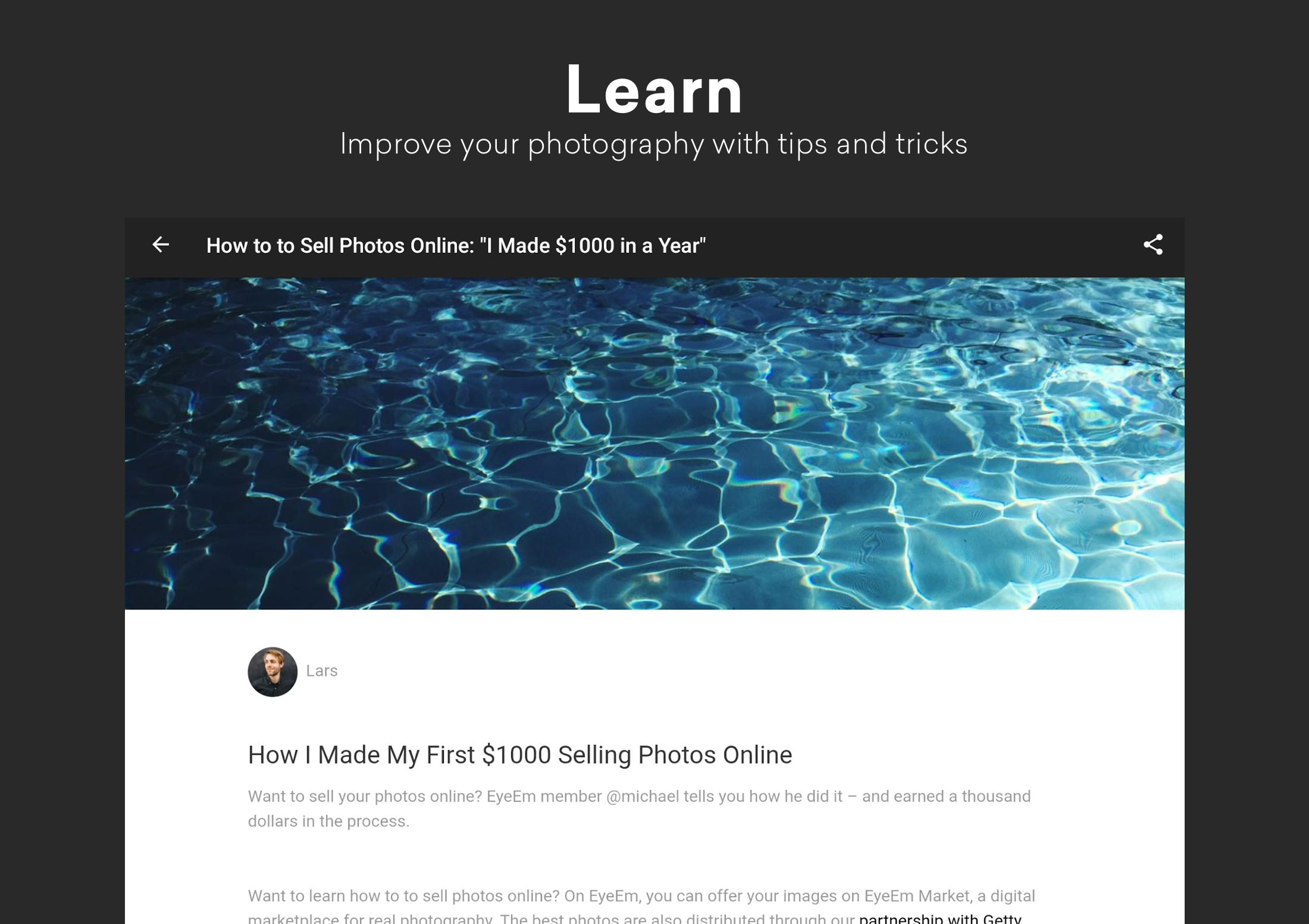 EyeEm Free Photo App For Sharing & Selling Images 8.1 Screenshot 11