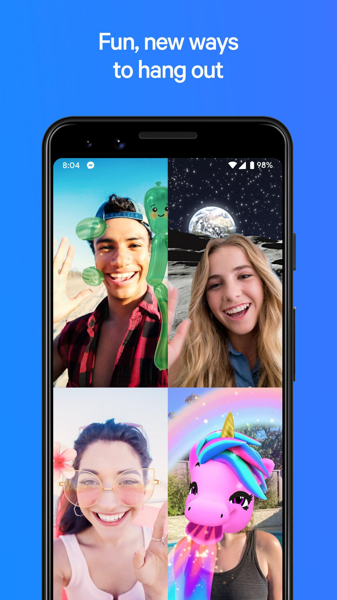 Messenger – Text and Video Chat for Free 293.0.0.13.232 Screenshot 1