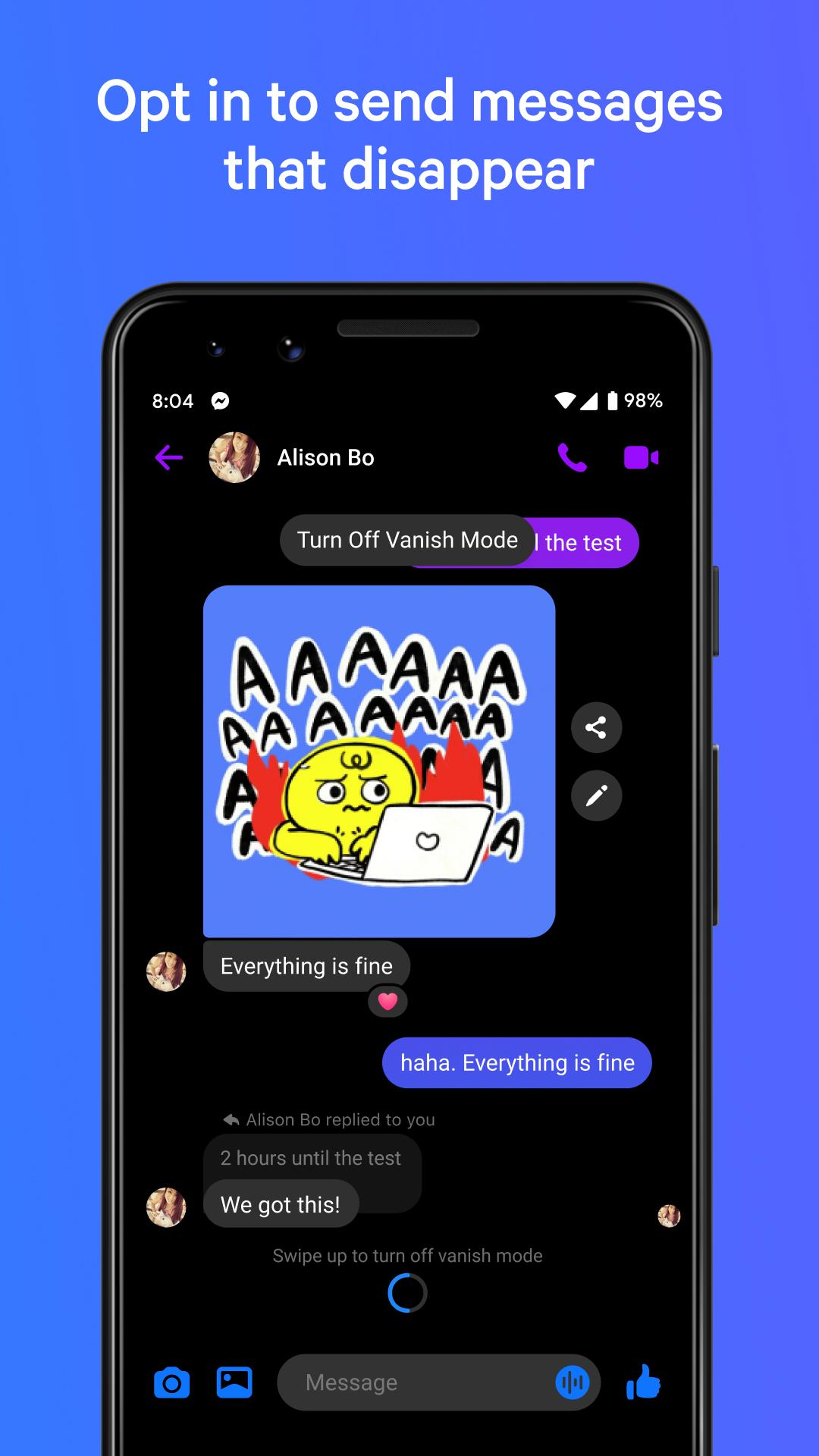 Messenger – Text and Video Chat for Free 293.0.0.13.232 Screenshot 2