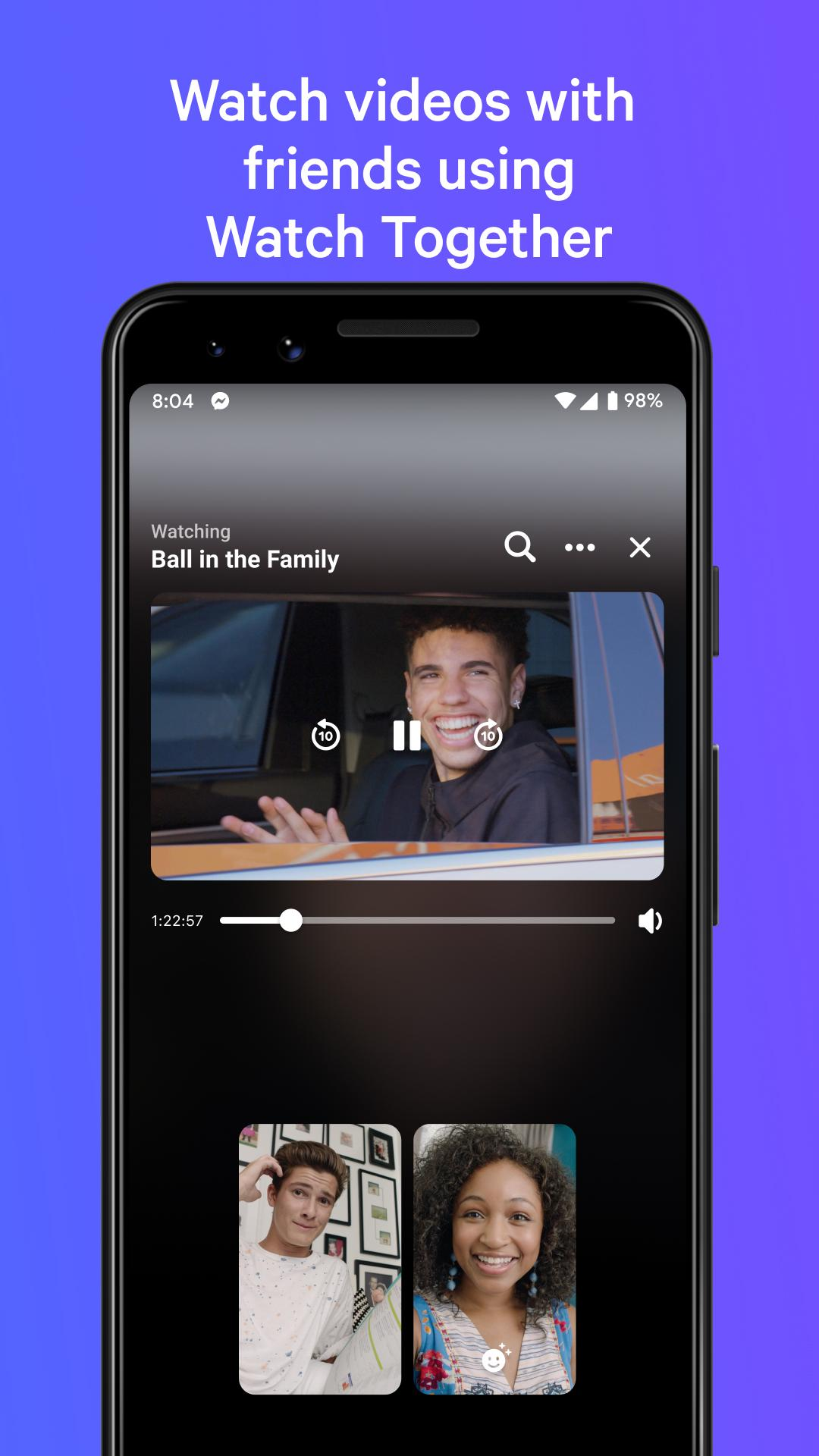 Messenger – Text and Video Chat for Free 293.0.0.13.232 Screenshot 3