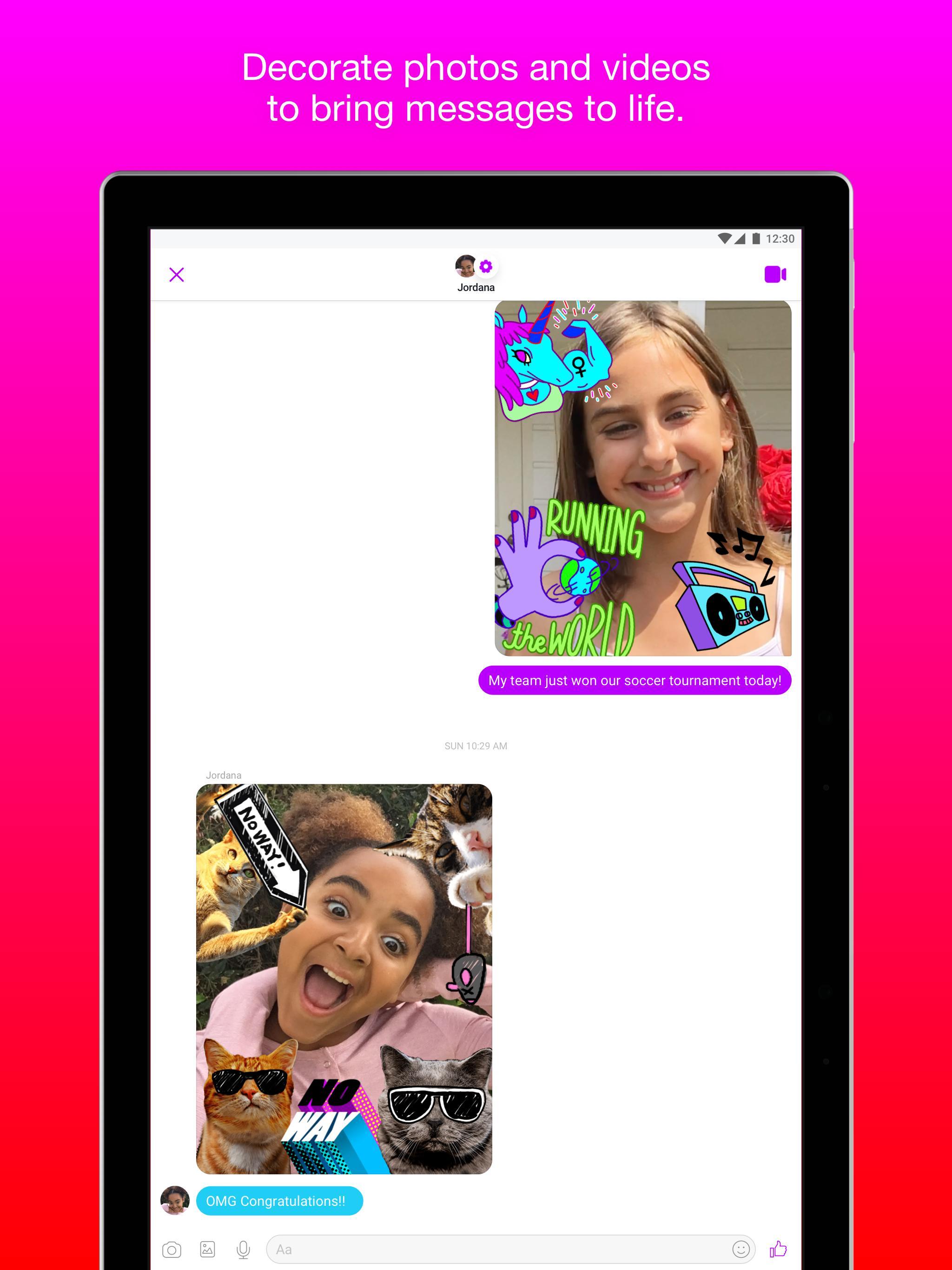 Messenger Kids – Safer Messaging and Video Chat 103.0.0.6.112 Screenshot 12