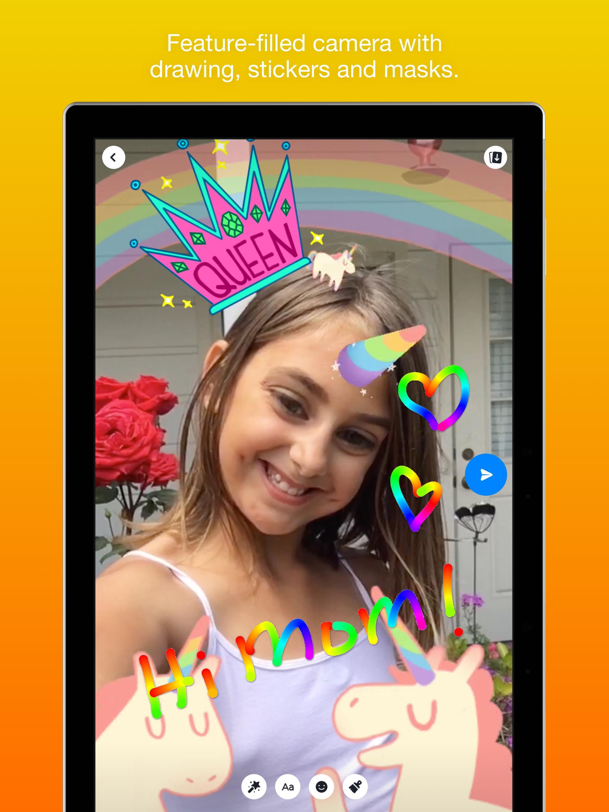Messenger Kids – Safer Messaging and Video Chat 103.0.0.6.112 Screenshot 13