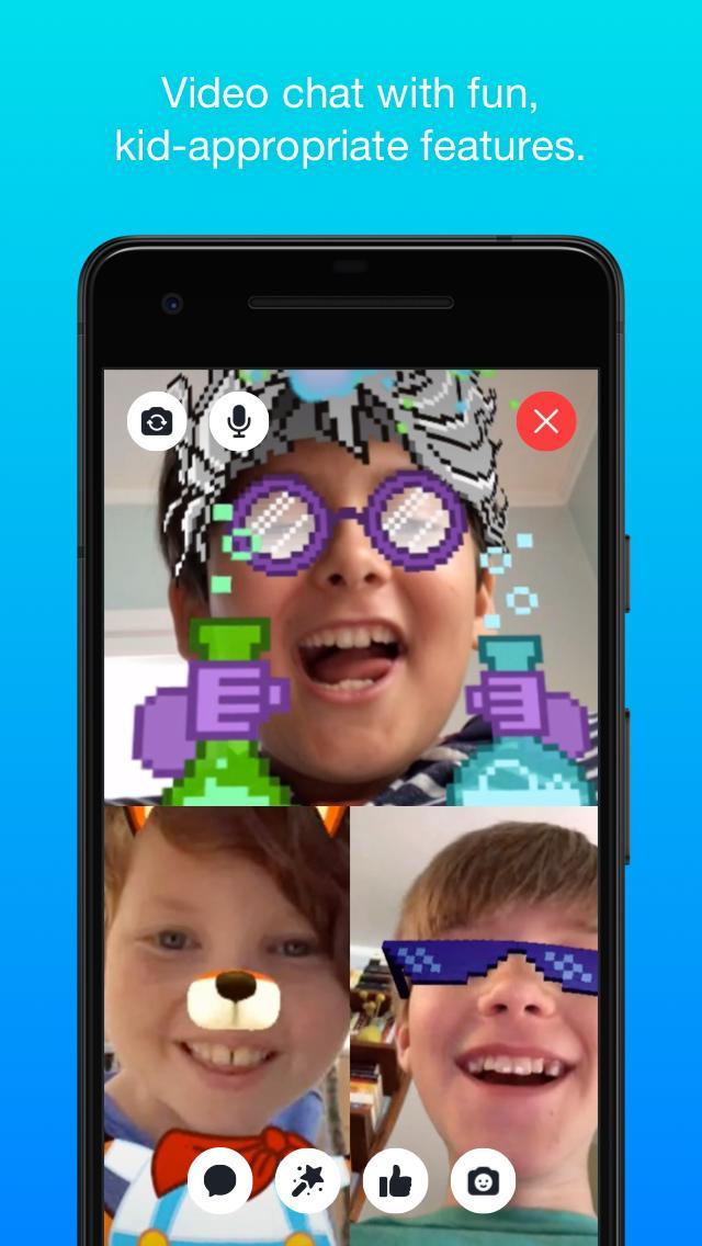 Messenger Kids – Safer Messaging and Video Chat 103.0.0.6.112 Screenshot 2