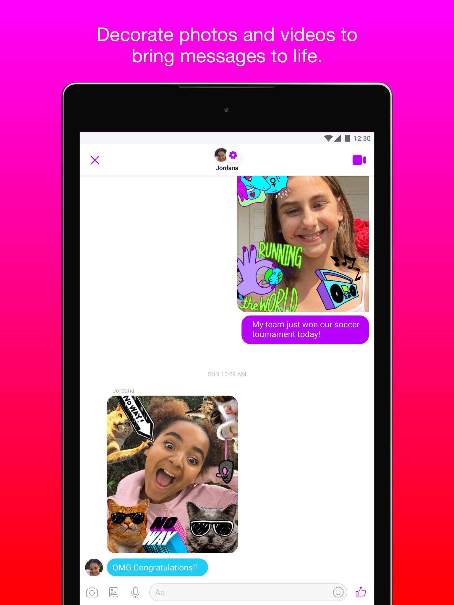 Messenger Kids – Safer Messaging and Video Chat 103.0.0.6.112 Screenshot 20