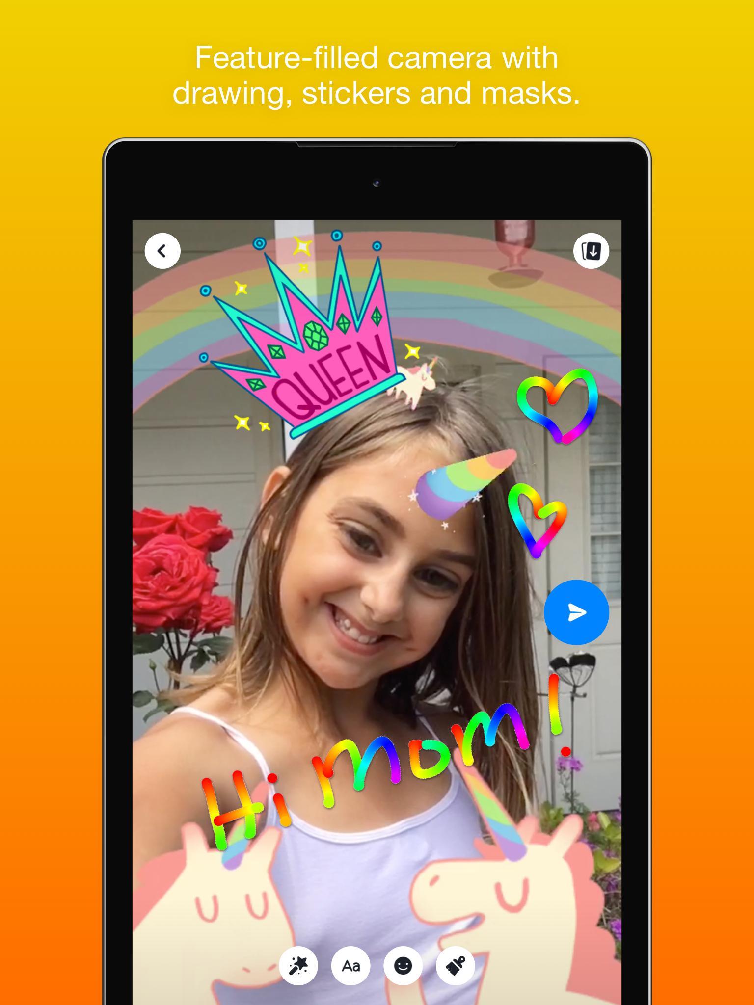 Messenger Kids – Safer Messaging and Video Chat 103.0.0.6.112 Screenshot 21