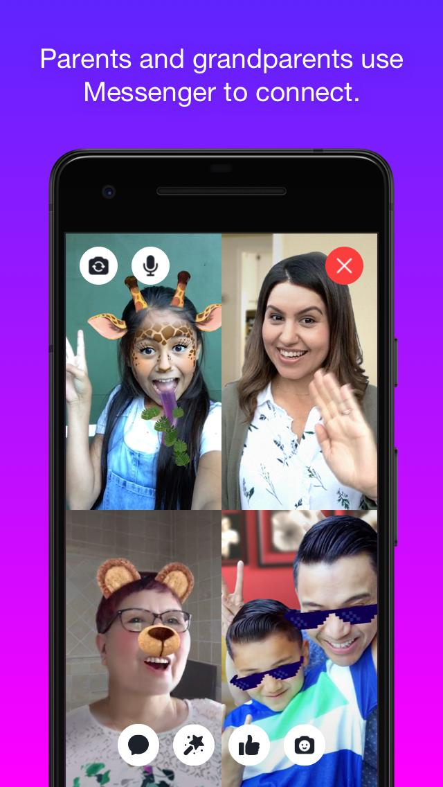 Messenger Kids – Safer Messaging and Video Chat 103.0.0.6.112 Screenshot 3