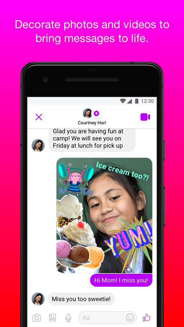 Messenger Kids – Safer Messaging and Video Chat 103.0.0.6.112 Screenshot 4