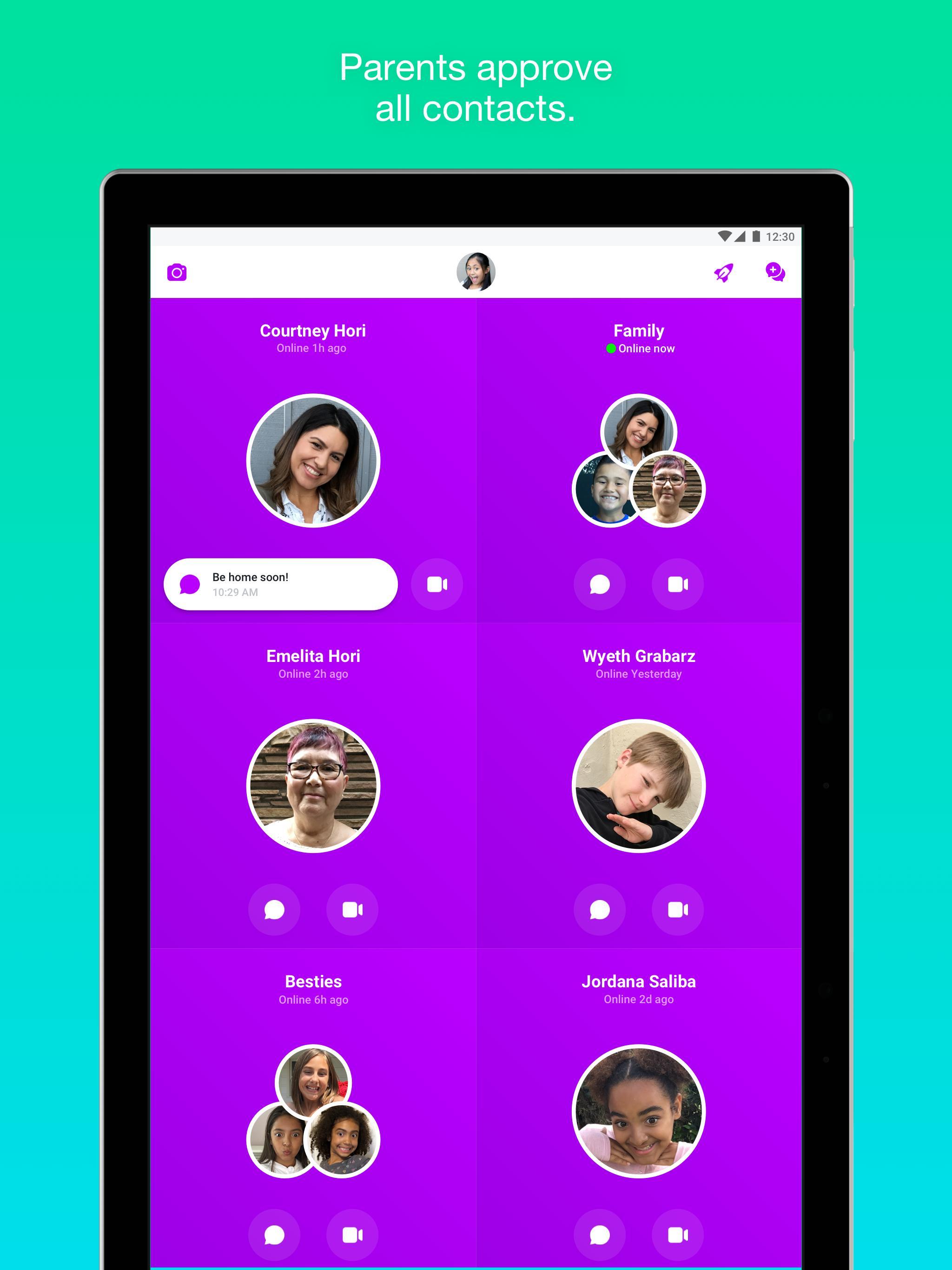 Messenger Kids – Safer Messaging and Video Chat 103.0.0.6.112 Screenshot 9