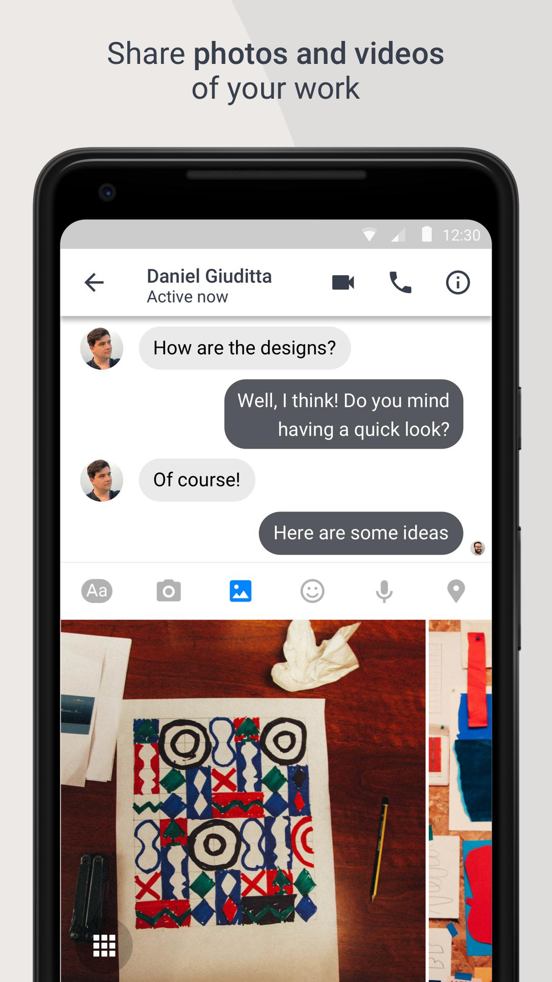 Workplace Chat by Facebook 247.0.0.9.117 Screenshot 4