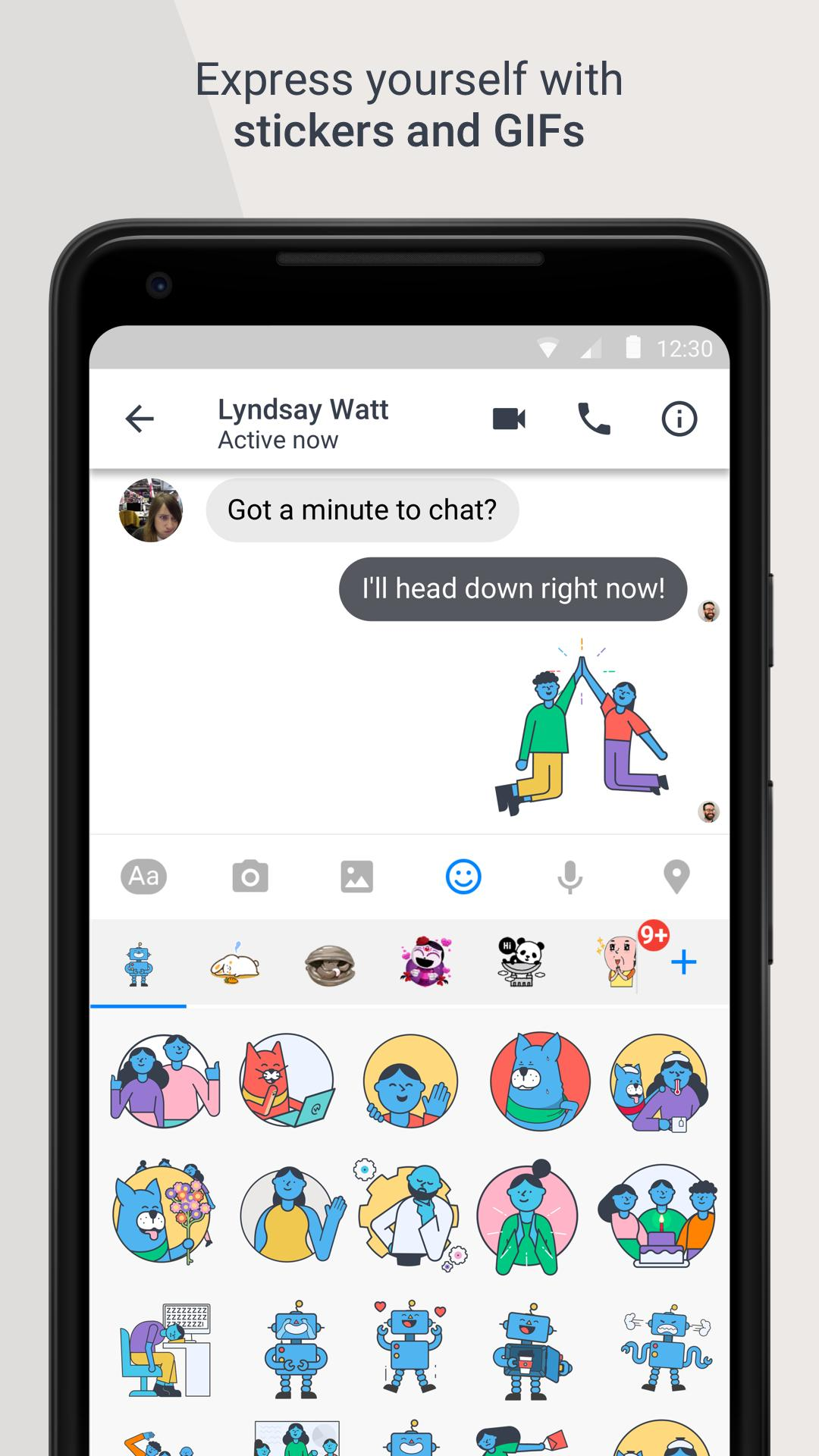 Workplace Chat by Facebook 247.0.0.9.117 Screenshot 5