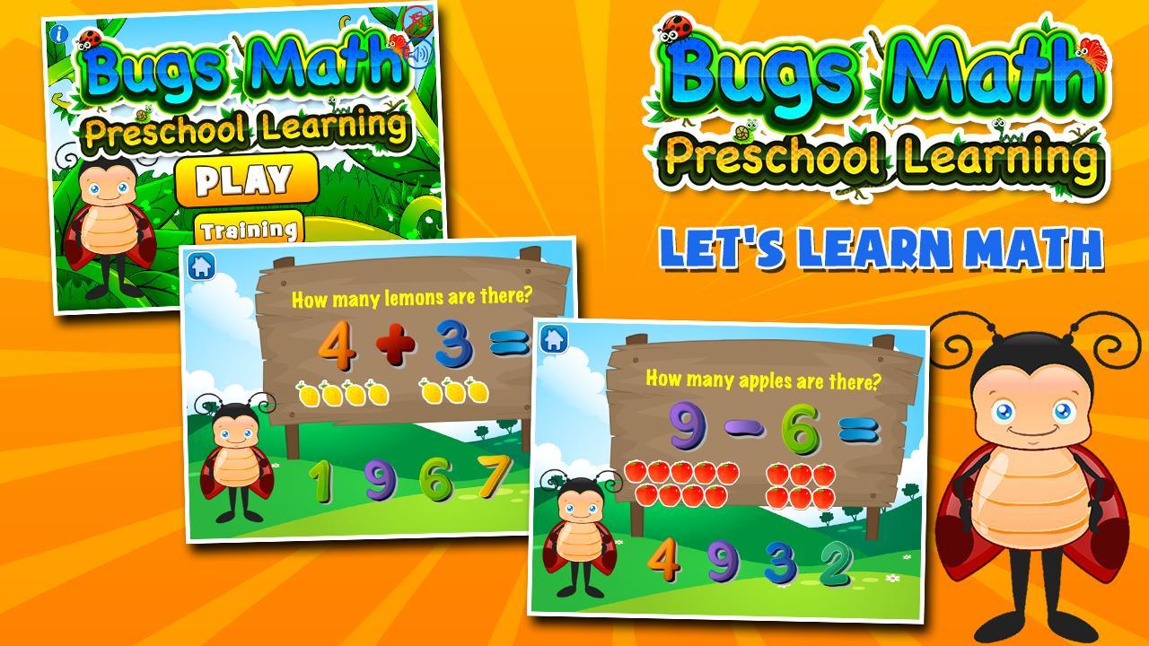 Bugs Learns Preschool Math 3.15 Screenshot 1