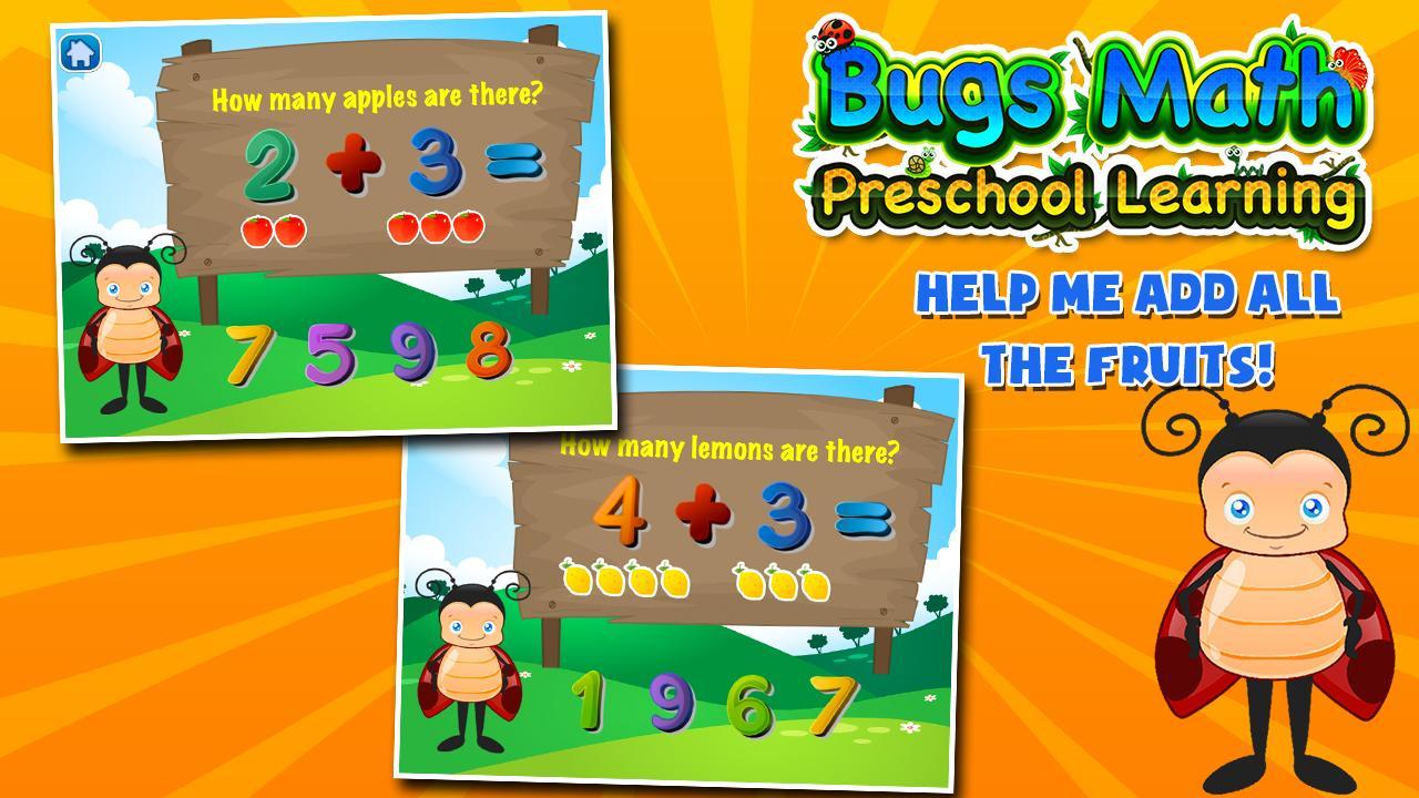 Bugs Learns Preschool Math 3.15 Screenshot 7