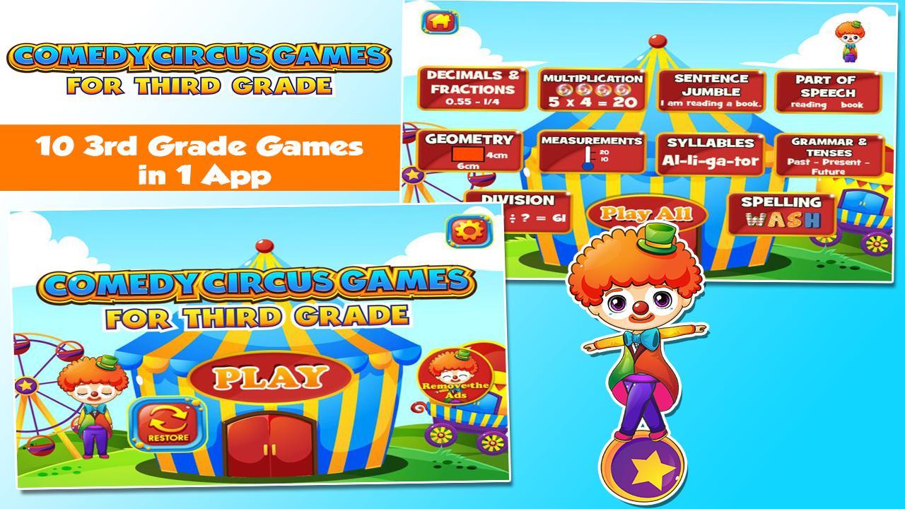 3rd Grade Learning Games 3.15 Screenshot 1