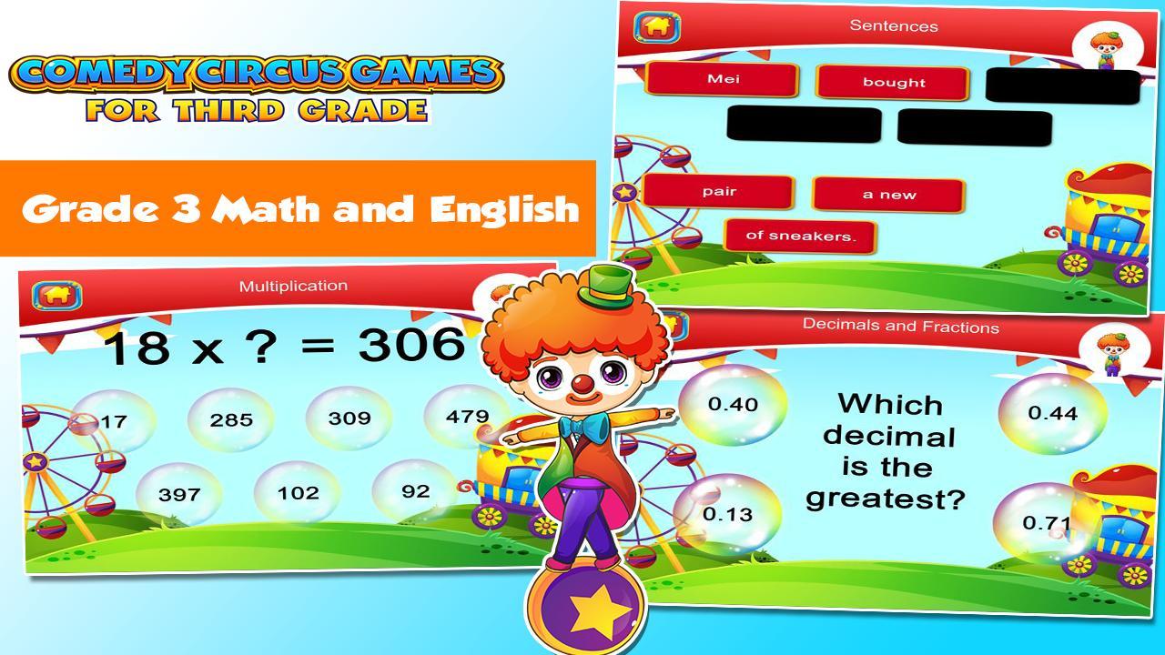 3rd Grade Learning Games 3.15 Screenshot 2