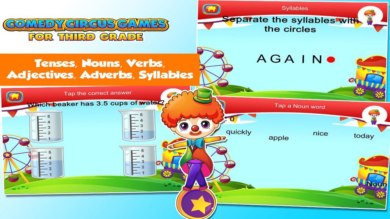 3rd Grade Learning Games 3.15 Screenshot 4