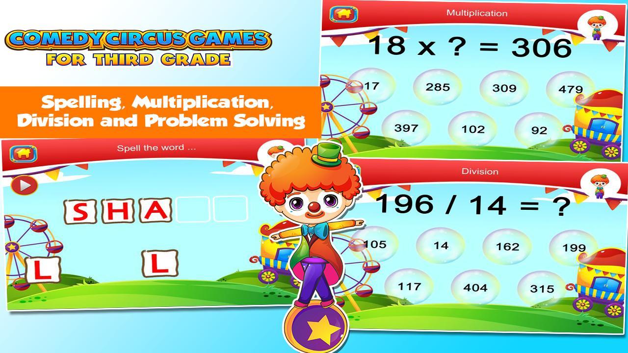 3rd Grade Learning Games 3.15 Screenshot 5