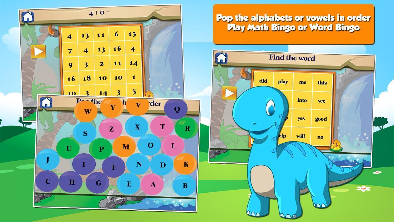Dino 1st Grade Learning Games 3.15 Screenshot 14