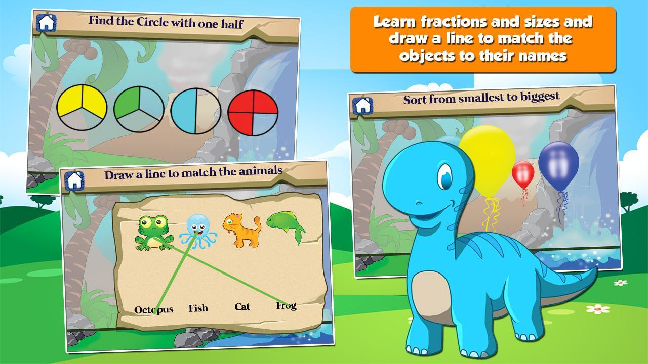 Dino 1st Grade Learning Games 3.15 Screenshot 3