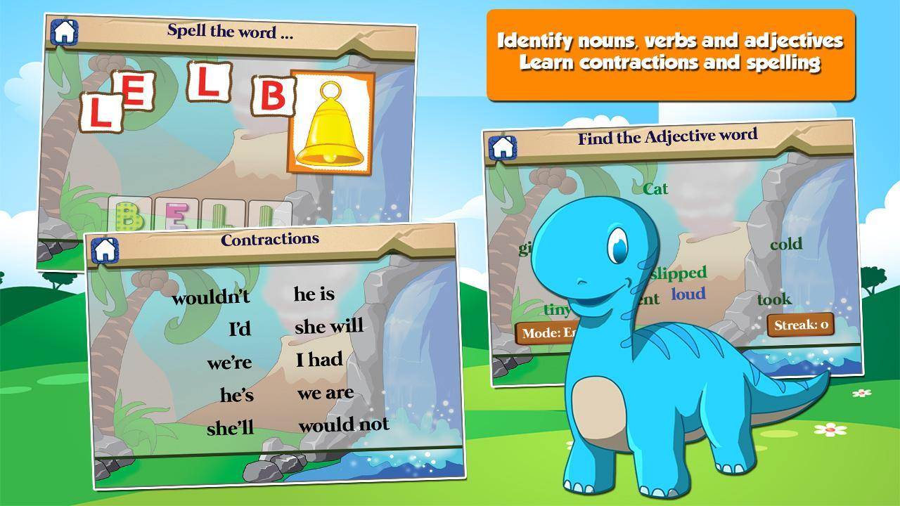 Dino 1st Grade Learning Games 3.15 Screenshot 5