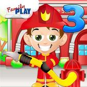 Fireman Kids 3rd Grade Games app icon