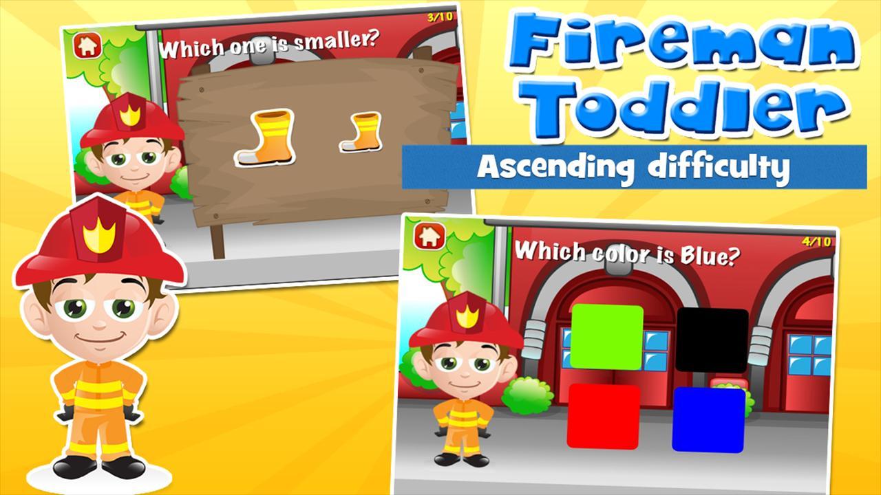 Fireman Toddler School Free 3.15 Screenshot 2