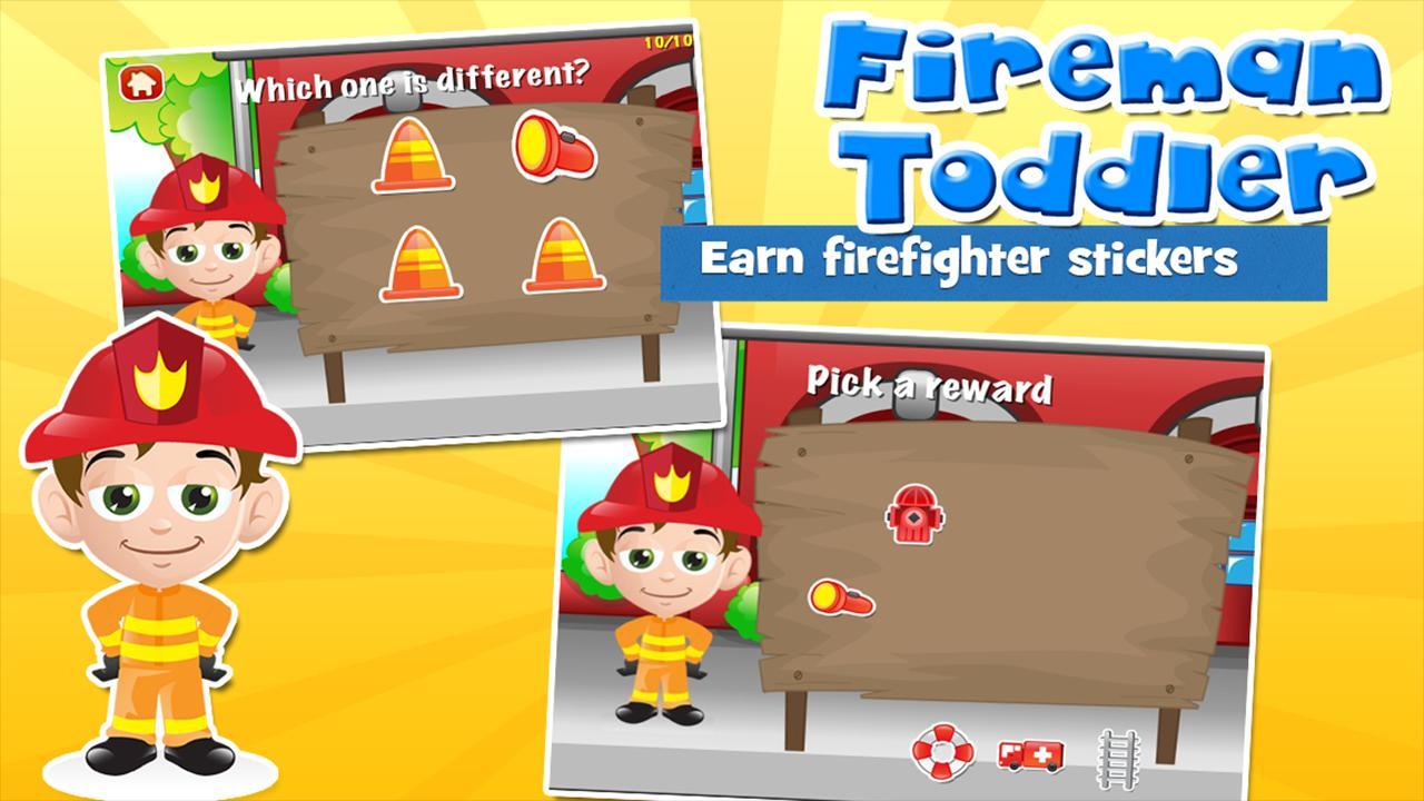 Fireman Toddler School Free 3.15 Screenshot 4