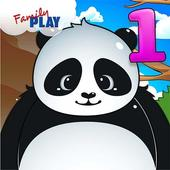 Panda 1st Grade Learning Games app icon