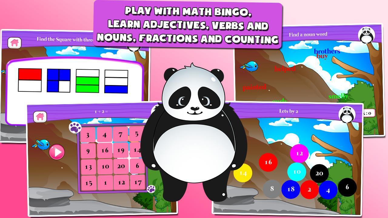 Panda 1st Grade Learning Games 3.15 Screenshot 2